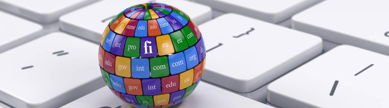 Domainit - verkkotunnukset